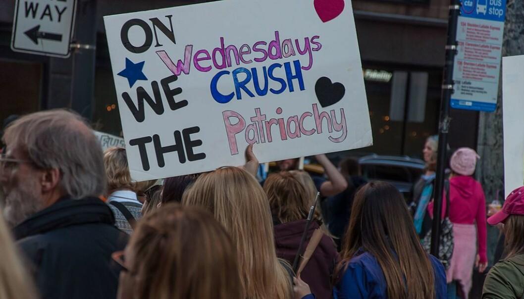 Fra Women's March i Chicago, 21. januar 2017. Foto: bradhoc/Flickr (CC BY 2.0)