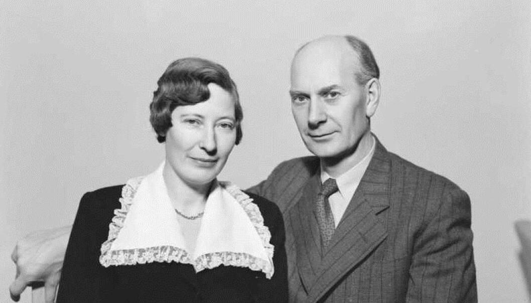 Werna og Einar Gerhardsen. Foto: Leif Ørnelund/Oslo Museum/Wikimedia Commons (CC BY-SA 3.0)