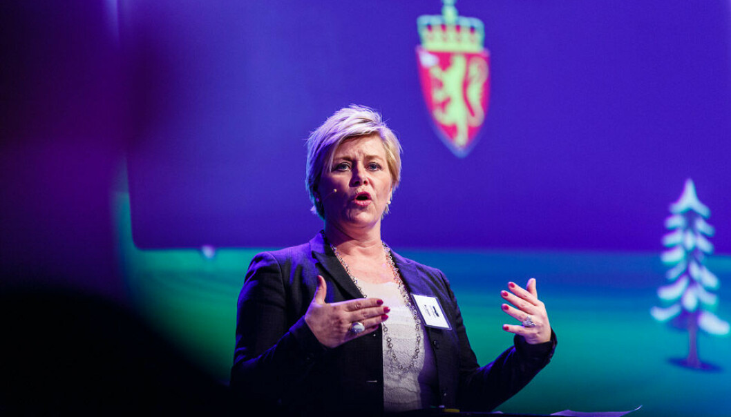 Siv Jensen. Foto: Kilian Munch/Flickr (CC BY-SA 2.0)