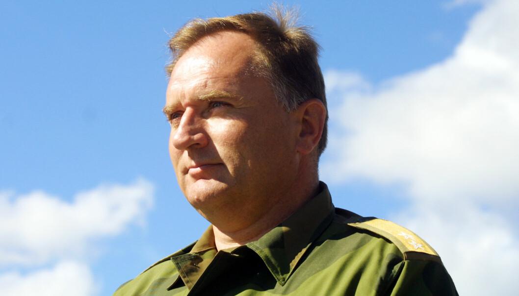 Kommandøren for landstridskreftene i Nord-Norge, generalmajor Sverre Diesen.