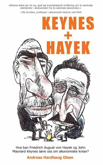 Andreas Hardhaug Olsen har kastet seg inn i debatten om de store økonomiske spørsmål. Som han selv skriver i sin nye bok, Hayek + Keynes: «Skyldes ubalanser en markedsøkonomi overlatt til seg selv, eller offentlig innblanding i form av dårlige reguleringer og mislykket pengepolitikk? Vil kreftene i markedet automatisk justere økonomien tilbake til normaltilstand, eller er en velfungerende økonomi avhengig av en aktiv stabiliseringspolitikk?»