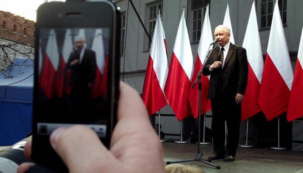 Autoritær: PiS-leder Jarosław Kaczyński