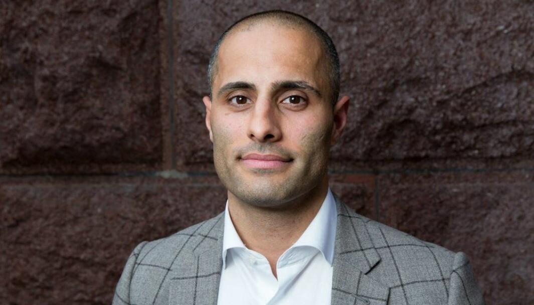 Mahmoud Farahmand er Telemark Høyres førstekandidat til neste års stortingsvalg.