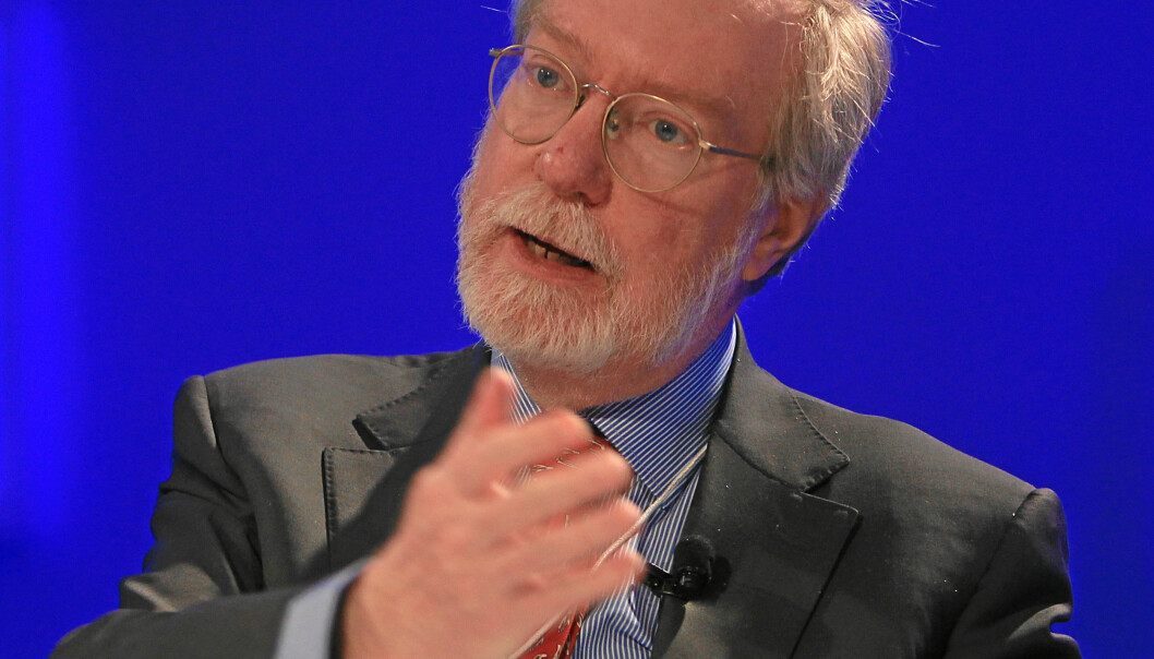 DAVOS/SWITZERLAND, 23JAN13 - Paul Collier, Professor of Economics, Department of Economics, University of Oxford, and Director, Centre for the Study of African Economies, United Kingdom; Global Agenda Council on Governance for Sustainability speaks during the arena session 'The Human Development Context' at the Annual Meeting 2013 of the World Economic Forum in Davos, Switzerland, January 23, 2013.Copyright by World Economic Forumswiss-image.ch/Photo Sebastian Derungs