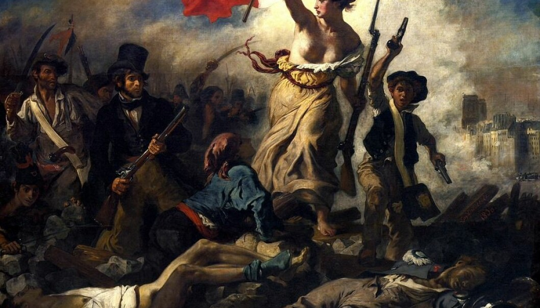 """Eugène Delacroix: """"La Liberté guidant le peuple"""""""