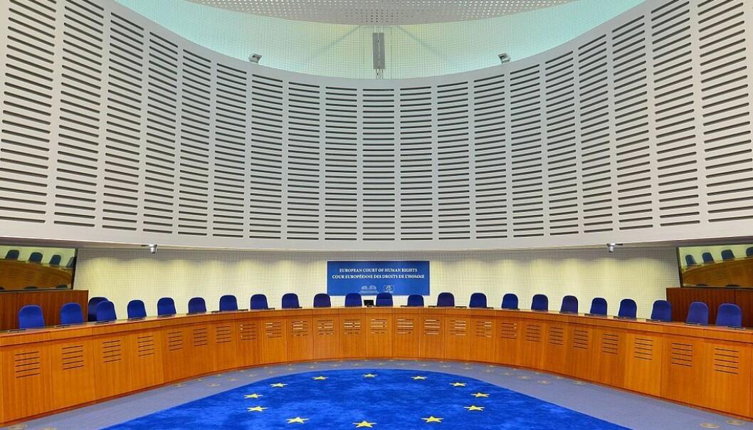 Den europeiske menneskerettighetsdomstolen i Strasbourg. Foto: Adrian Grycuk [CC BY-SA 3.0 pl]