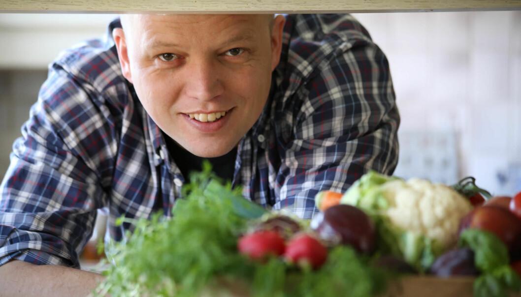 Trygve Slagsvold Vedum fristet med sin variant av grønt, og velgerne kjøpte.