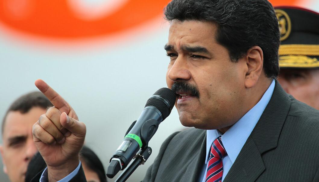 – Nicolás Maduros regime er mislykket på alle fronter, sier seniorforsker Aslak Orre. Foto: Agencia de Noticias ANDES [CC BY-SA 2.0].