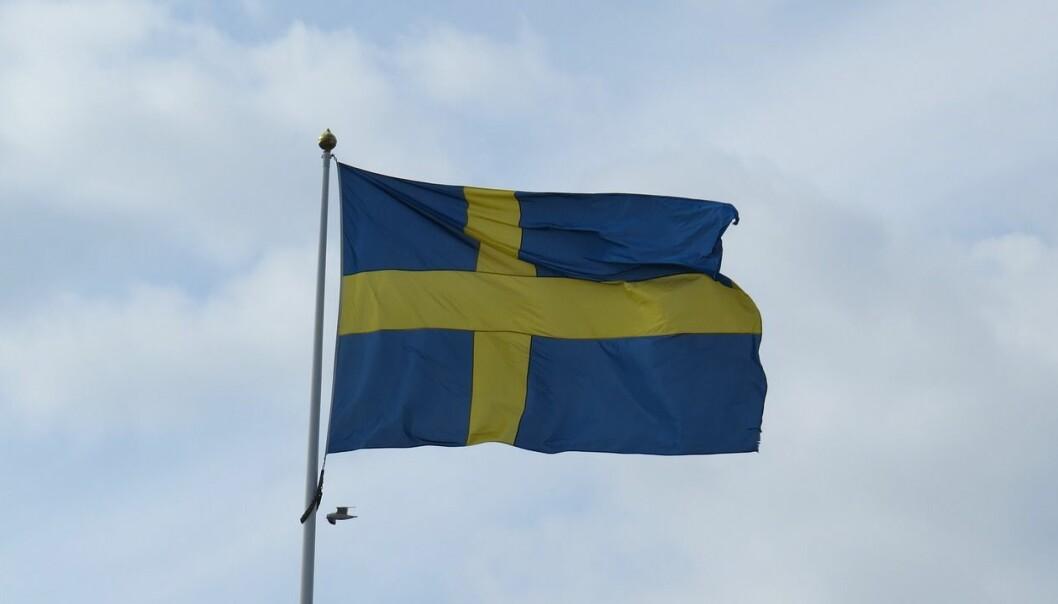 Sverige skrider videre frem med fanen hevet, uten å ense at følgerskaren har svunnet hen og at de vandrer alene, skriver Asle Toje.