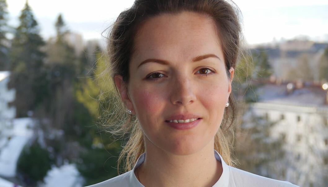 – Listen er ikke høyrevridd, mener Sigrid Hagerup Melhuus. Foto: Agenda.
