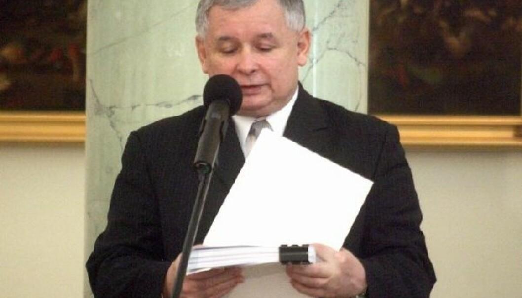 Jarosław Kaczyński var populistisk nasjonalist lenge før det populært, og er fortsatt i krig med «systemet», skriver Slawomir Budziak.Foto: Archiwum Kancelarii Prezydenta RP – www.prezydent.pl, GFDL 1.2.