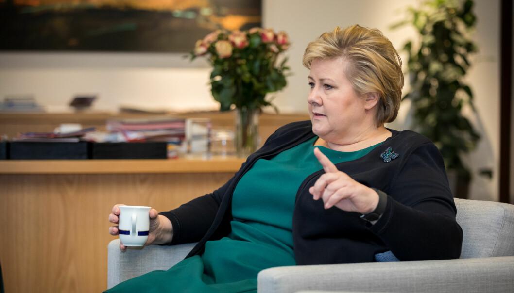 Fremskrittspartiet har varslet at de vil påføre regjeringen nederlag. Da kan Erna Solberg og regjeringen gjerne sende noen i retur, skriver spaltist Nicolai Øyen Langfeldt.