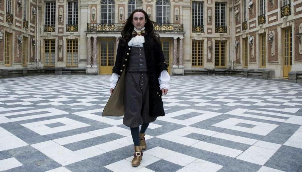 """Ludvig 14, fra """"Versailles"""" (2016)."""