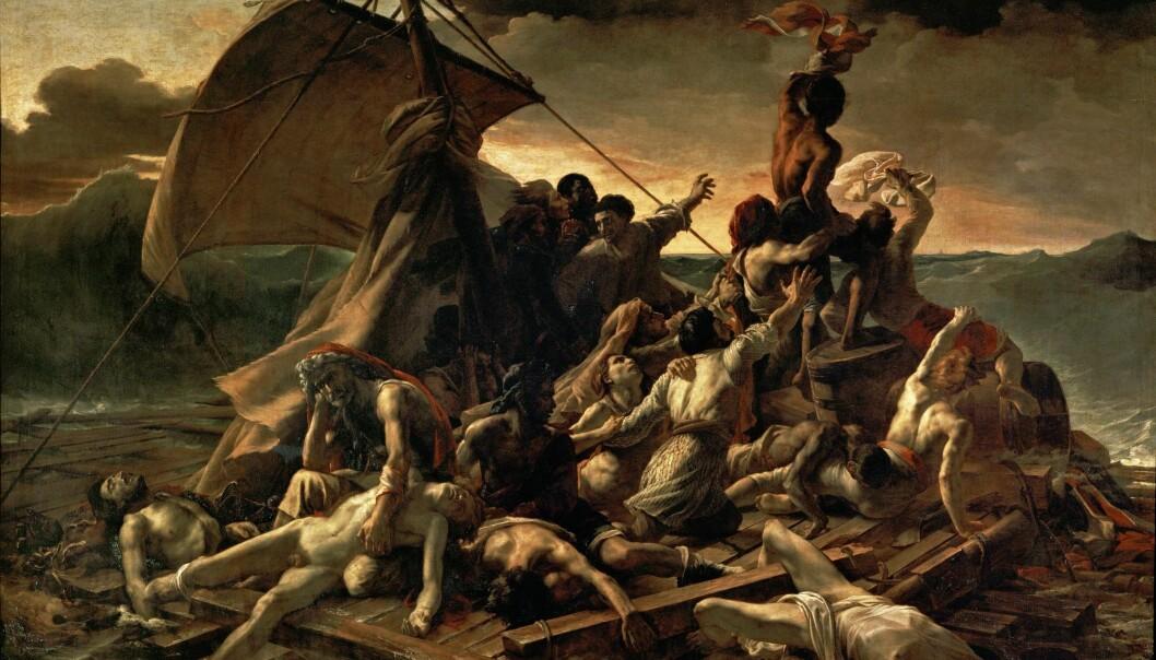 Theodore Gericault: Le Radeau de la Méduse (1817-1818)
