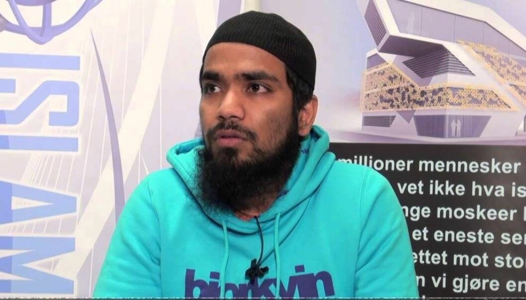 Ujjal Mazumder, styremedlem i Islam Net.