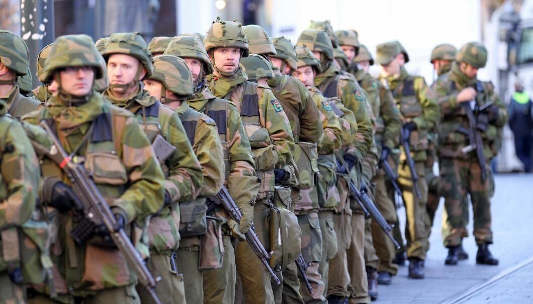 Heimevernet under øvelse Tyr i Oslo / The Norwegian Home Guard during exercise Tyr in Oslo