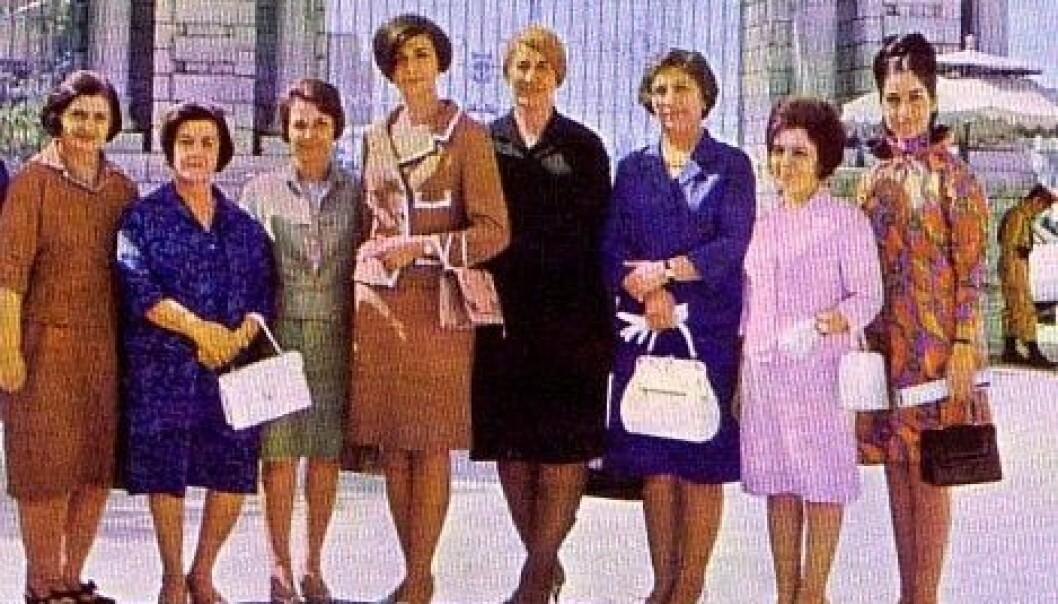 Iran på 70-tallet: kvinnelige parlamentsmedlemmer.