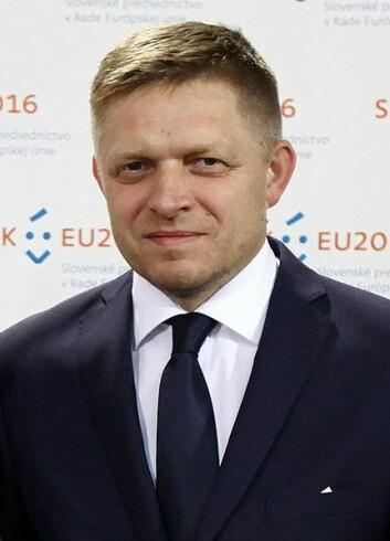 – Slovakia skal være en del av Europas kjerne, sa Robert Fico under en pressekonferanse i Brüssel i august.