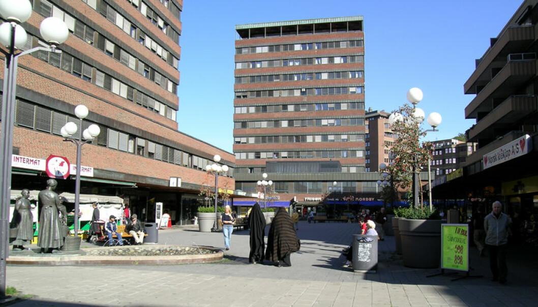Tøyen torg i Oslo