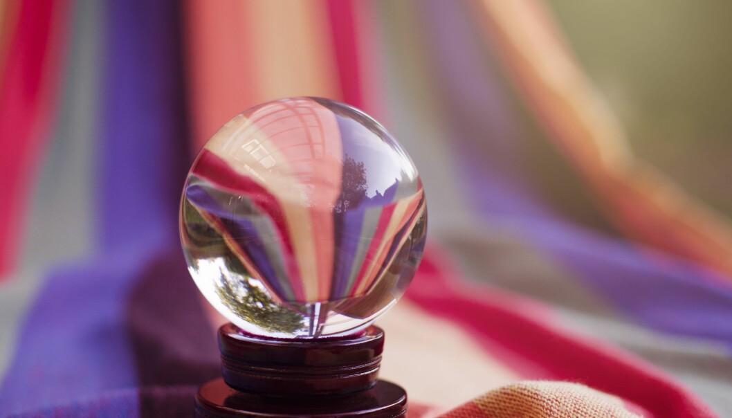 Vi mennesker har en overdreven tro på vår evne til å skue inn i fremtiden, skriver Pål Mykkeltveit.