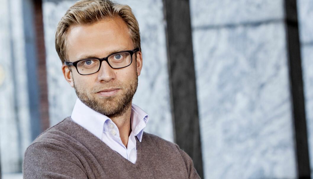 IKKE SÅ PRINSIPIELL LENGER: Nikolai Astrup er tilbake på Facebook.