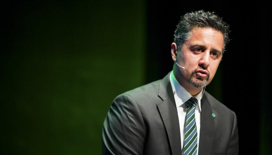 Abid Raja (V) ble utnevnt til kultur- og likestillingsminister 24. januar i år.