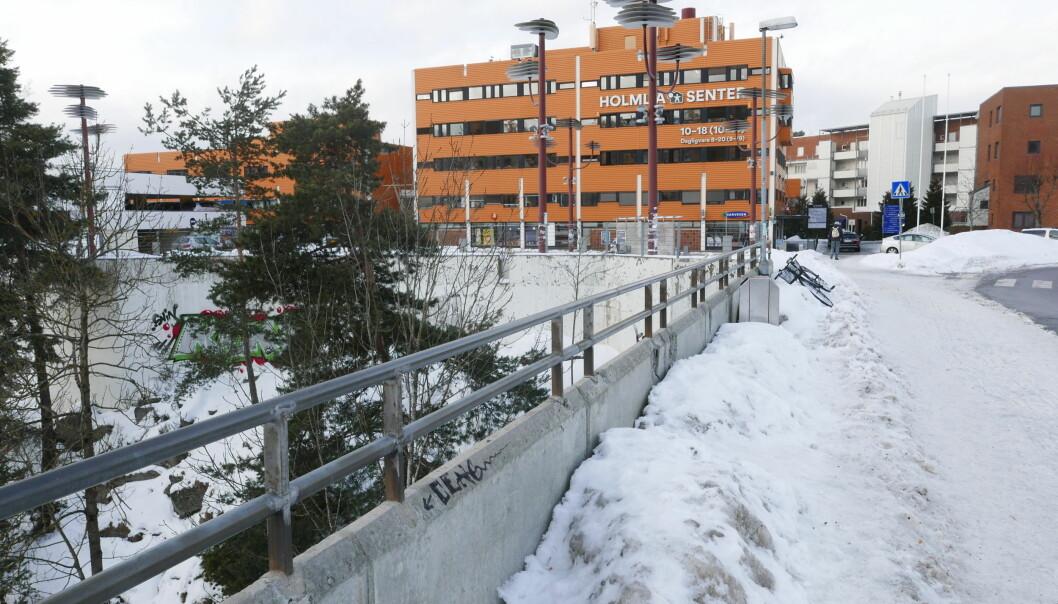 Homlia, bydel syd i Oslo.