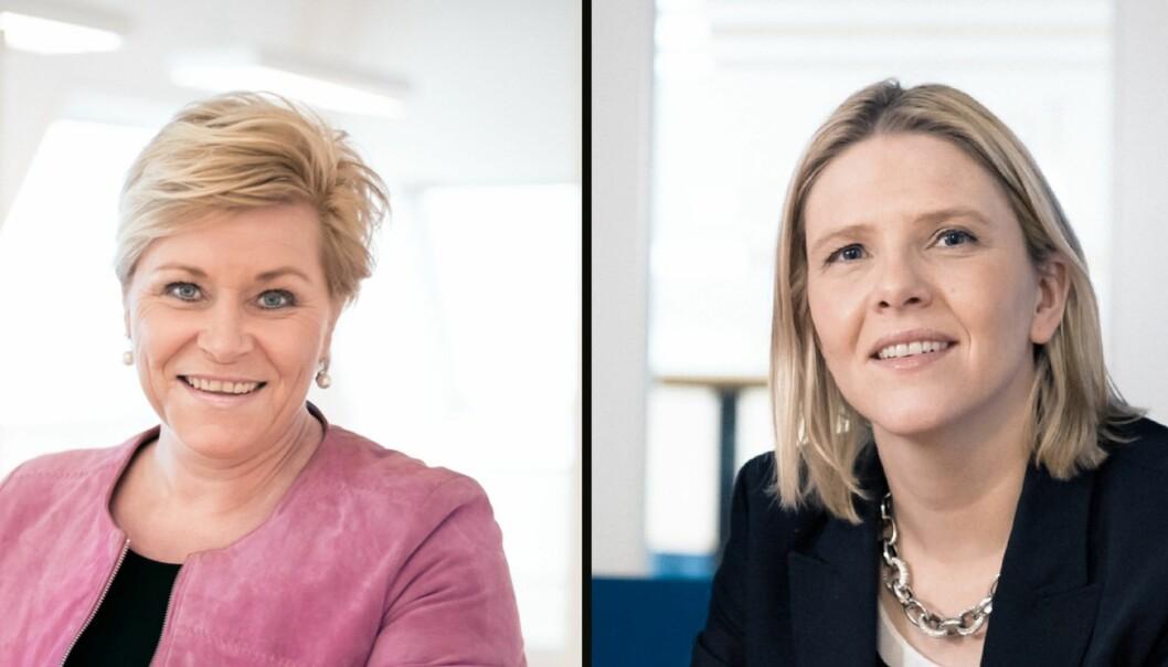 Skal Siv Jensens kastes som Frp-leder må Sylvi Listhaug utfordre henne.