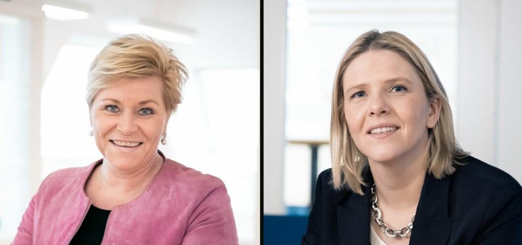 Både Siv Jensen og Sylvi Listhaug har kikket på meningsmålingene og konkludert: Innvandring!