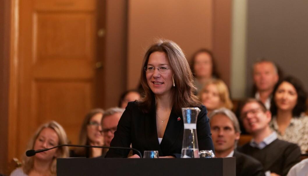 Forbudet mot trakassering er igjen blitt akutalisert, etter at en professor dro en tyskervits i forlesning. Anine Kierulf forklarer hva forbudet faktisk forbyr – og hvorfor det kan problematiseres.
