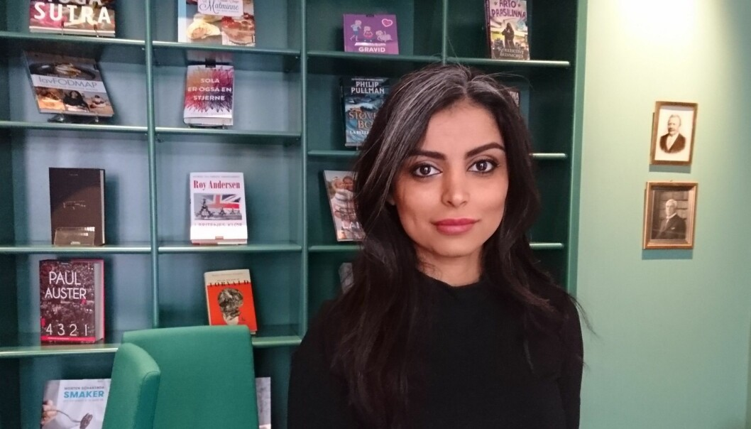 Boken skal være et talerør for de tause stemmer, sier Sara Omar.