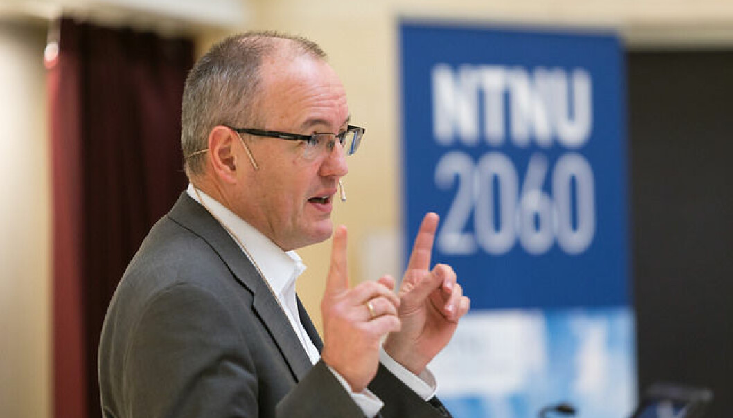 Rektor ved NTNU Gunnar Bovim