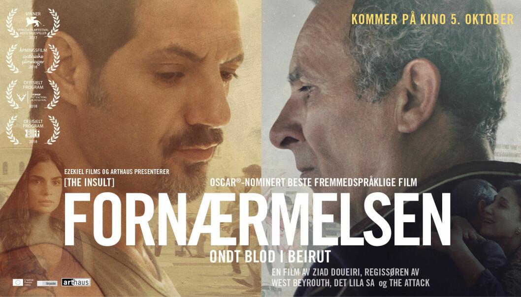 Den libanesiske filmen Fornærmelsen skildrer psykologien som driver frem sekteriske konflikter.