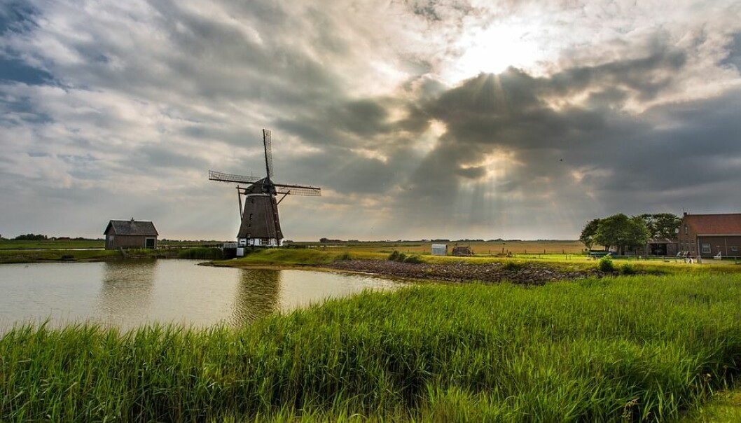 Netherlands Historically Holland Windmill Mill