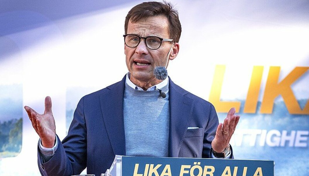 Moderaternas leder Ulf Kristersson. Foto: Johan Wessmann/Wikimedia Commons (CC BY 3.0)