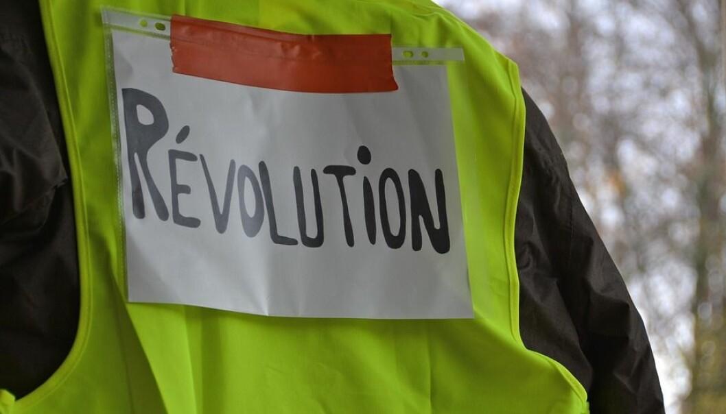 Yellow Vests Revolution Event Protest