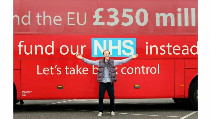 HBO-filmen gir nye perspektiver på Brexit-valgkampen. På bildet: Benedict Cumberbatch som Brexit-general Dominic Cummings.