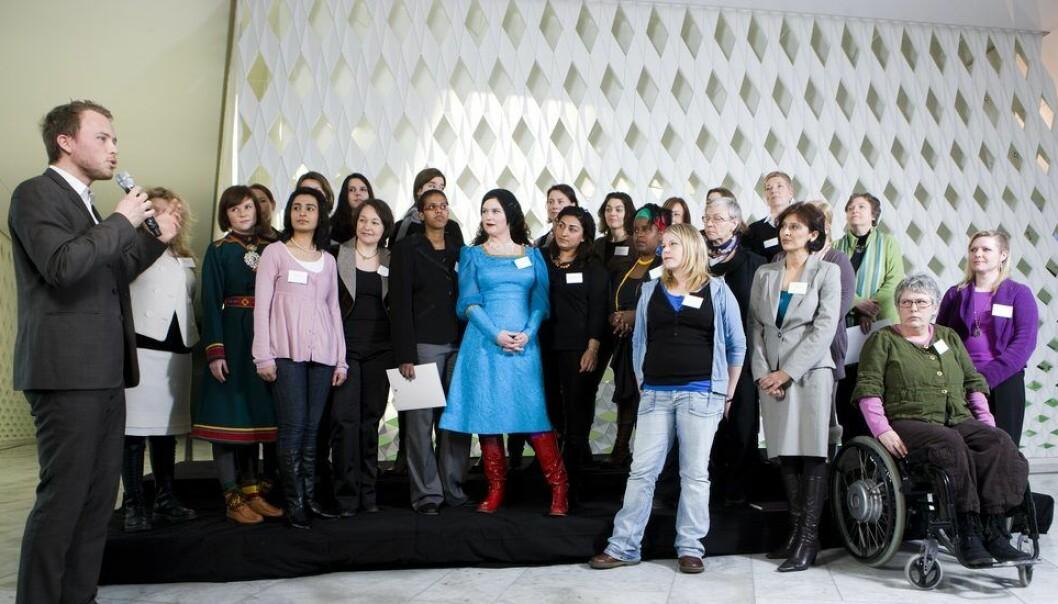 Kommjobb for barne- og likestillingsdep. ved  Marit Skram-LundTlf./mobil: 98432750Foto under lansering av kvinnepanelet 2010.
