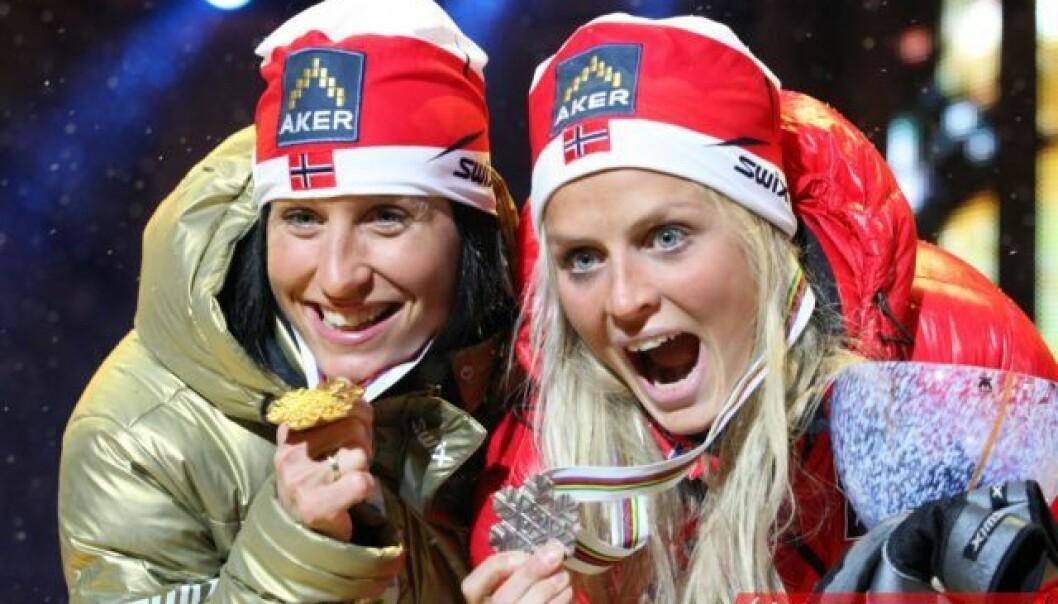 Therese Johaug er ikke bare norsk skisports største stjerne, men også Huaweis ansikt i Norge.