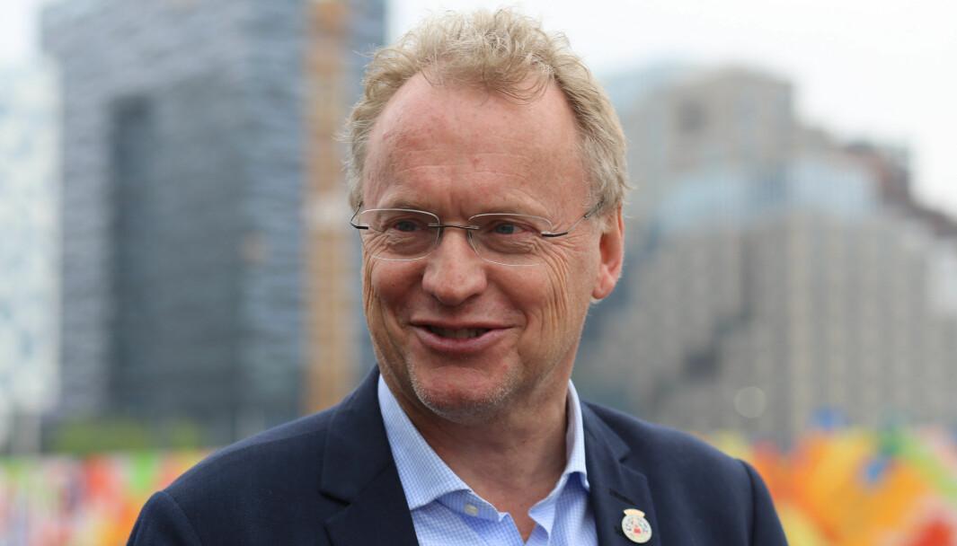 Byrådsleder i Oslo, Raymond Johansen (Ap)
