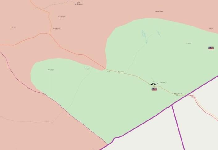 Al-Tanf fronten våren 2018