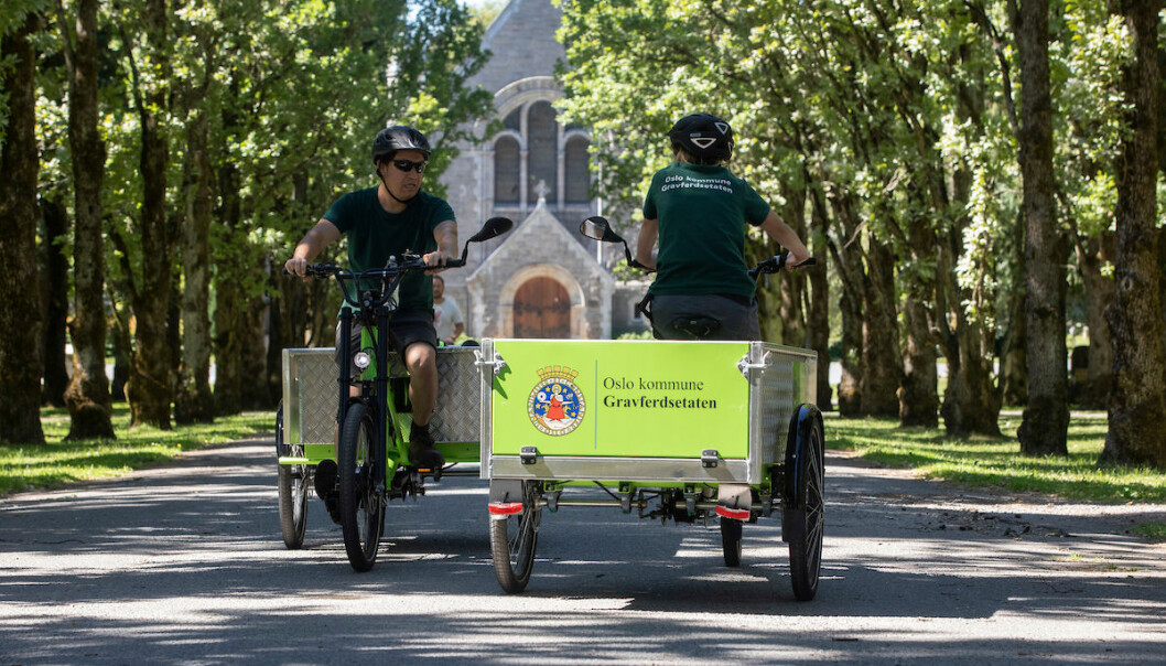 Oslos Cemeteries and Burials Agency are on their way to becoming all-electric.