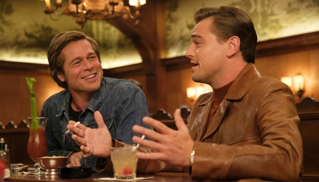 "Brad Pitt og Leonardo DiCaprio i ""Once Upon a Time In Hollywood"". Foto/Copyright: Sony/SF Studios"