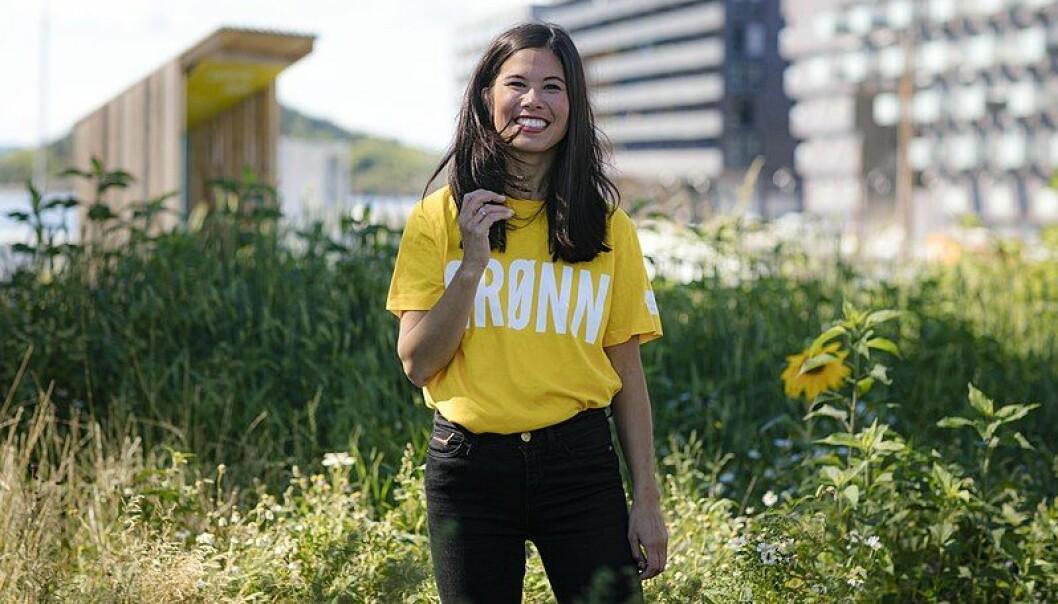 MDGs førstekandidat i Oslo, og byråd for miljø og samferdsel, Lan Marie Nguyen Berg. Foto: Thomas Ekström/Wikimedia Commons
