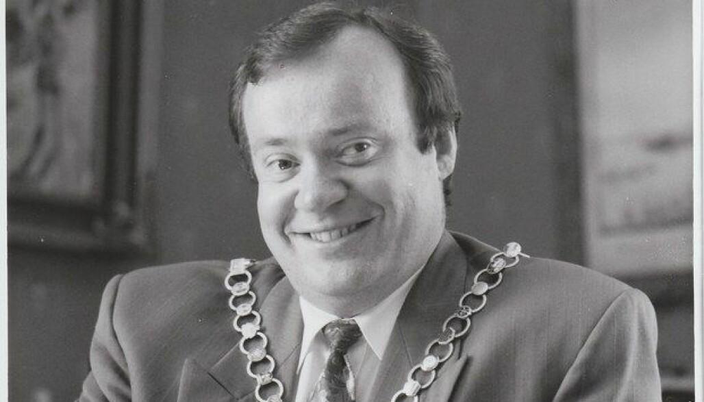 Marvin Wiseth var ordfører for Høyre i Trondheim fra 1990 til 1998. Foto: Trondheim byarkiv/Flickr