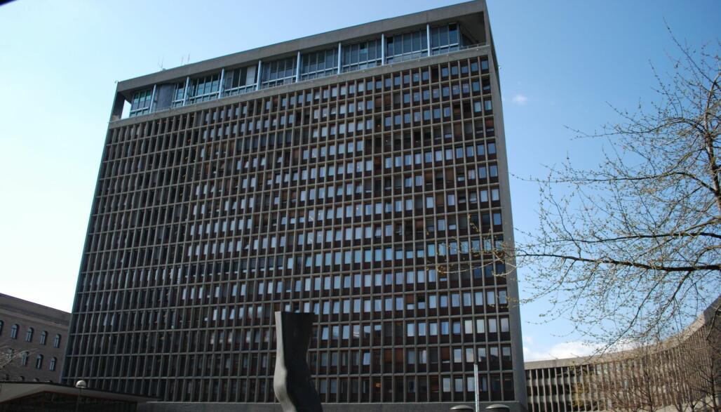Høyblokken i Regjeringskvartalet. Foto: Helge Høifødt/Wikimedia Commons CC BY-SA 3.0