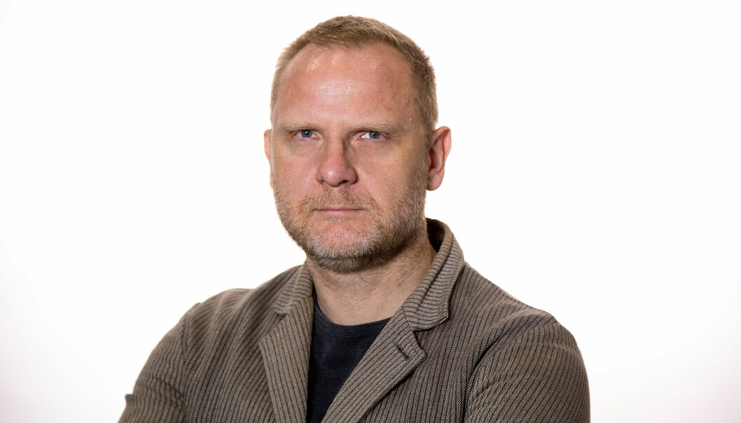 Frank Rossavik. Foto: Aftenposten