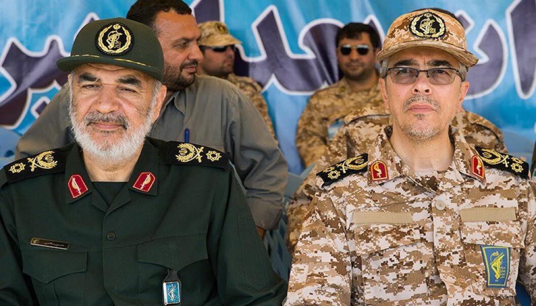 Sardar Hossein Salami er sjef for den iranske revolusjonsgarden, som kan ha stått bak angrepene på oljeinstallasjonene i Saudi-Arabia. Foto Hossein Zohrevand.