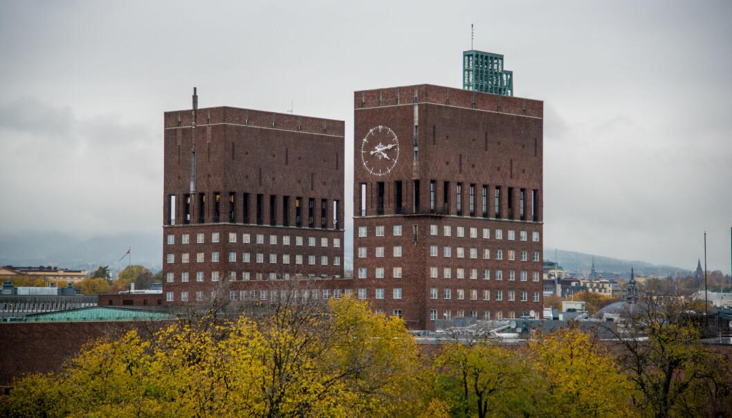 Oslo Rådhus. Foto: Wikimedia Commons (CC-BY-2.0)