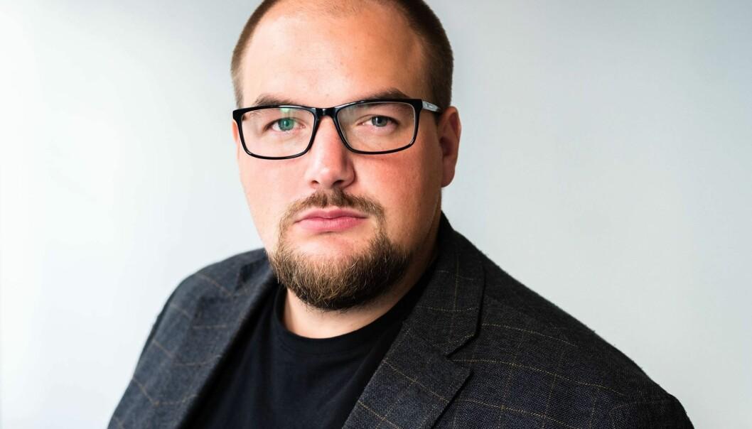 Redaktør og daglig leder i Medier24, Erik Waatland. Foto: Ole Gunnar Onsøien / Medier24